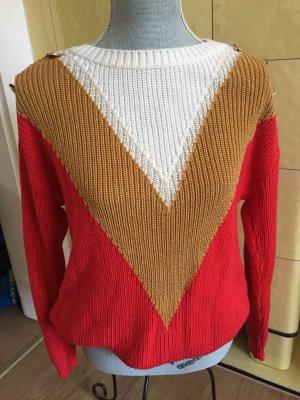 Naf naf Pull tricoté multicolore