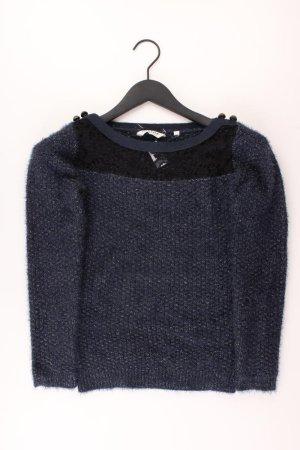 NAF NAF Pullover mit Glitzer blau Größe S
