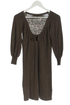 Naf naf Abito maglione marrone stile casual