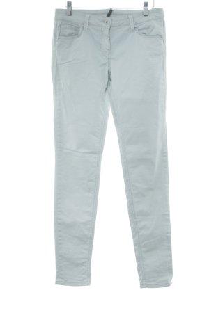 Naf naf Jeans cigarette turquoise style décontracté