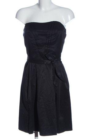Naf naf schulterfreies Kleid schwarz Elegant