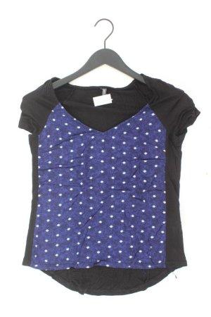 NAF NAF Shirt blau gepunktet Größe M