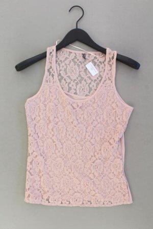 Naf naf Top de encaje rosa empolvado-rosa-rosa claro-rosa Algodón