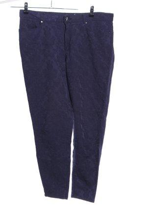 Naf naf Pantalon en jersey bleu imprimé allover style décontracté