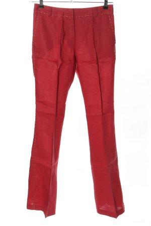 Naf naf Pantalon en jersey rouge style décontracté