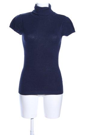 Naf naf Strickshirt blau Casual-Look