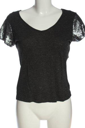 Naf naf T-shirt jasnoszary Melanżowy W stylu casual