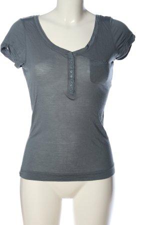 Naf naf T-Shirt hellgrau Casual-Look