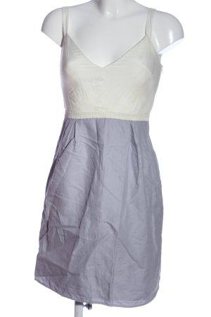 Naf naf Trägerkleid weiß-blau Casual-Look