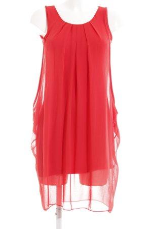 Naf naf Trägerkleid rot Elegant