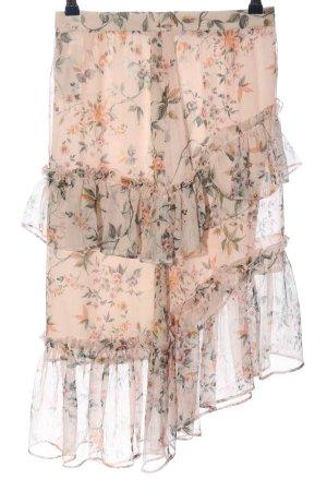 Naf naf Volanten rok volledige print elegant