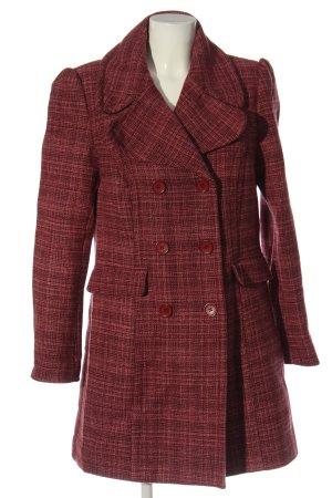 Naf naf Wool Coat red casual look