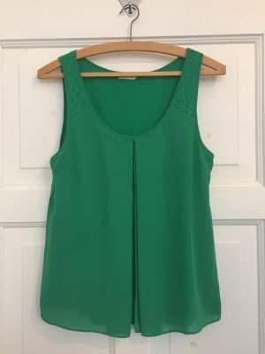 Naf naf Off the shoulder top groen Polyester