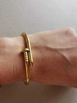 Nagel Armreif Gold