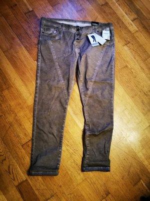 Janina Stretch Jeans grey brown