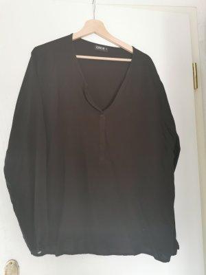 Nagel neue schwarzes Blusen Shirt Grösse 48