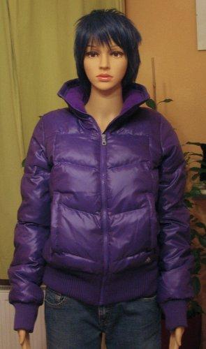 NAGEL-NEUE, superschöne ADIDAS Winter-Jacke in violett/ lila, Größe DE 34/36, Small