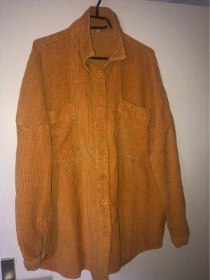 Veste d'extérieur orange clair