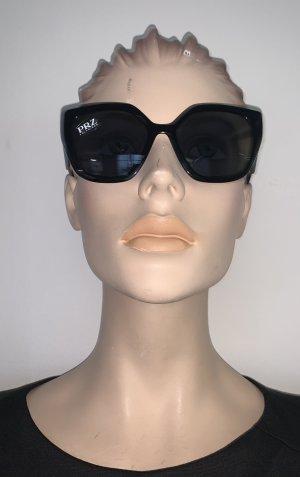 Prada Gafas mariposa negro-color oro
