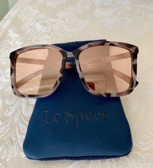Le Specs Gafas de sol cuadradas color rosa dorado-taupe