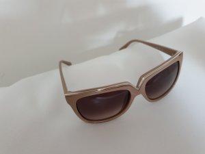 Valentino Gafas de sol cuadradas nude