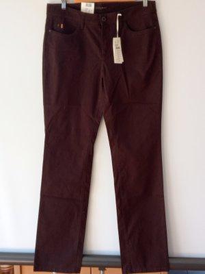 Mac Pantalón elástico marrón oscuro