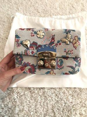 Furla Crossbody bag multicolored cotton