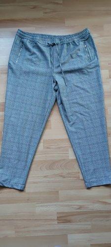 C&A Yessica Pantalon à pinces gris clair-beige clair polyester