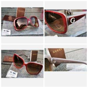 Nagelneue Gucci Sonnenbrille neu ovp rot