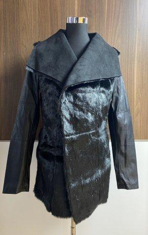 Esmara by Heidi Klum Fake Fur Jacket black