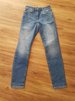 Stefanel Jeans boyfriend azzurro Cotone