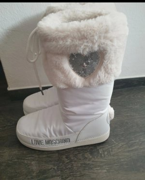 Moschino Stivale da neve bianco