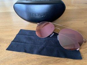 Nagelneue Sonnenbrille Roségold von Escada Sport