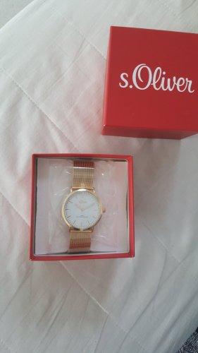 Nagelneue Uhr von S Oliver.