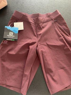 Salomon pantalonera burdeos-rojo zarzamora