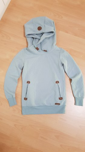 Hailys Camicia con cappuccio blu pallido