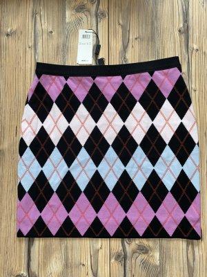 Marc Cain Gonna lavorata a maglia multicolore