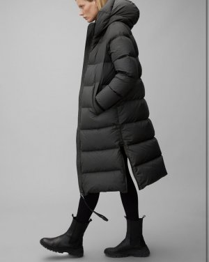 Marco Polo Down Coat black