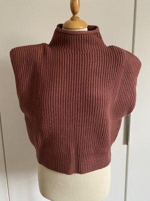 Nagelneuer Pullover mit Schulterpolster