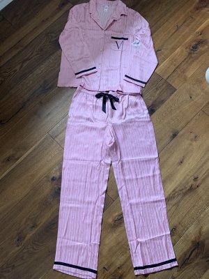 Victoria's Secret Pigiama rosa-nero