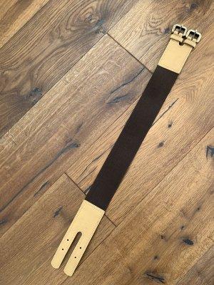 Waist Belt beige-dark brown