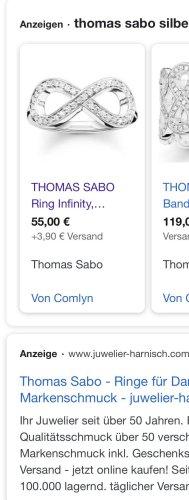 Thomas Sabo Bracelet en argent argenté