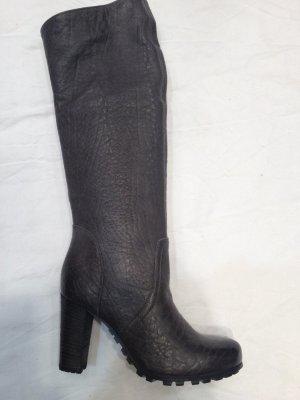 Café Noir Shoes grey-dark grey leather