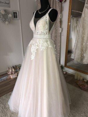 Robe de mariée vieux rose