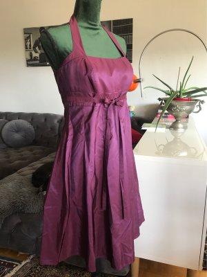 Sonja Kiefer Off-The-Shoulder Dress brown violet