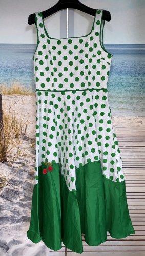 Vkstar Robe avec jupon blanc-vert