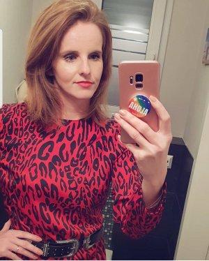 nagelneues Kleid mit Animalprint