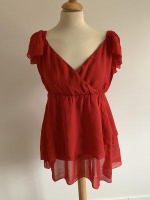 Bandolera T-shirt czerwony