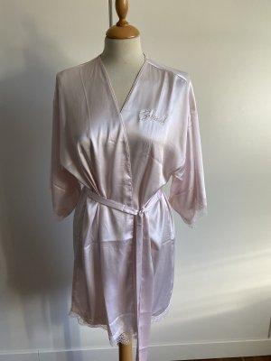 Victoria's Secret Kimono pink silk