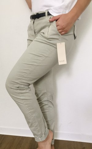 Made in Italy Pantalon strech beige clair